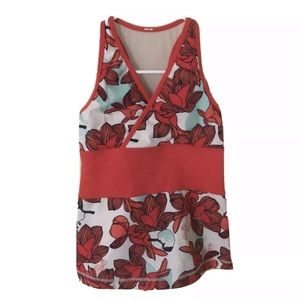 Lululemon Power Y Floral Tank with Birds Size xs/s